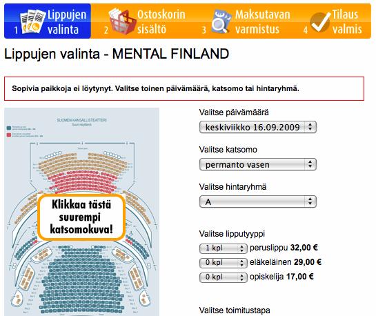 Lippu.fi, osa 6 ja puoli